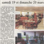 Courrier Picard  03 2016
